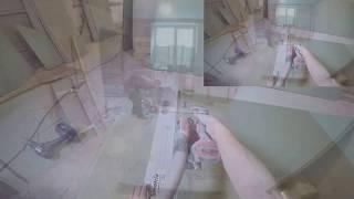 видео Как смонтировать из гипсокартона подвесной потолок любой сложности. Часть 2