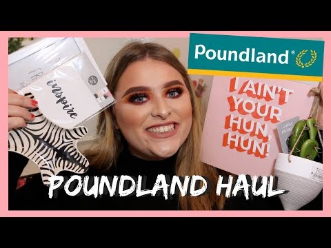 HUGE POUNDLAND HAUL *homeware and more* | GH0STBLONDIE