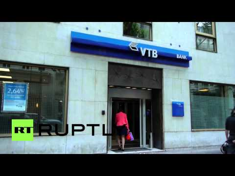 France: Paris VTB branch pictured as assets are frozen in Yukos case