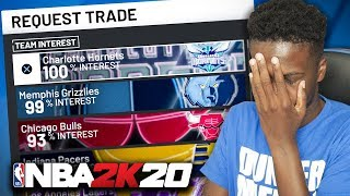 NBA 2K20 MyCAREER - I CAN'T DO THIS ANYMORE!! REQUESTING A TRADE!! (Ep 6)