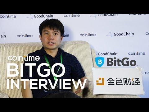 BitGo to build cryptocurrency custodian service - BitGo CTO Benedict Chan