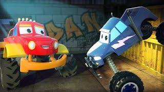 Monster Truck Dan: Clash Of Giants | Kids Songs | Cartoon Videos For Children By Kids Channel