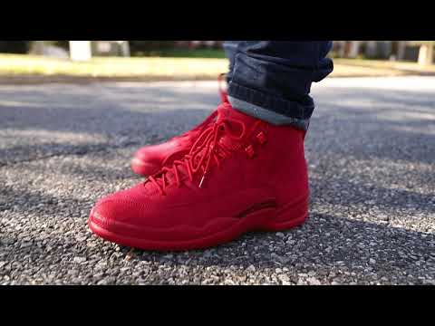 "brand new 2a948 07e50 Air Jordan 12 ""Gym Red"" (Dope or Nope) + On Foot - YouTube"