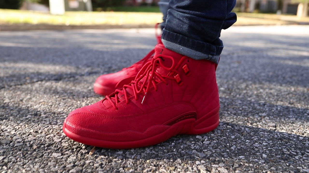 "1b9f4fd7ce8f69 Air Jordan 12 ""Gym Red"" (Dope or Nope) + On Foot - YouTube"