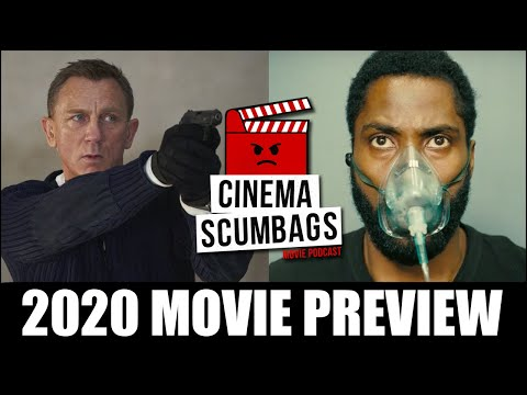 2020 MOVIE PREVIEW - Cinema Scumbags Podcast (#142)