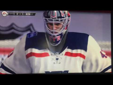 La kings V.S NY Rangers NHL 14