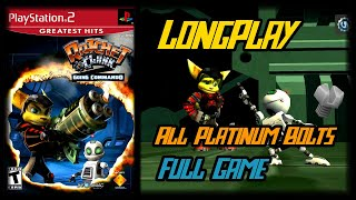 Ratchet & Clank 2 Going Commando - Longplay All Platinum Bolts Full Game Walkthrough (No Commentary)
