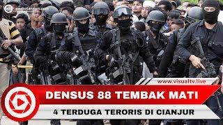 Download Video Densus 88 Tembak Mati 4 Terduga Teroris di Cianjur MP3 3GP MP4
