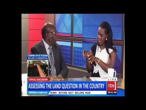 Assessing the Land Question in the Country (Owek. Dan Muliika)