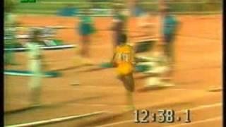 Said Aouita 12.58.39 RM 5000 Roma 22-Jul-1987