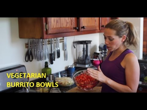 Vegetarian Burrito Bowls With Quinoa - Clean Eating - Weekly Meal Preparation By Nauti Fitness