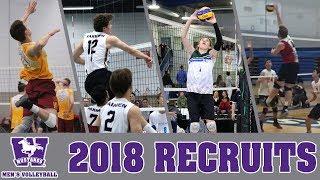 2018 Mustangs Men's Volleyball Recruiting Class