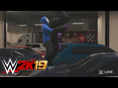 DELIRIOUS HELPS ME FIND MY CAR  WWE 2k19  w h2Odelirious