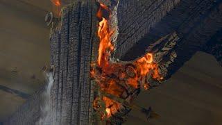 Fire at Port Columbus Civil War Naval Museum in Columbus, Georgia destroys rear storage shed
