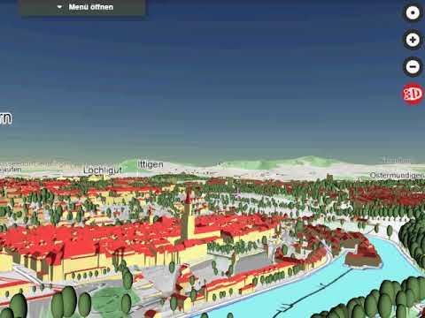3D Beta Viewer map.geo.admin.ch BERN, CH