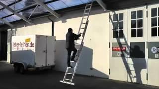 Трехсекционная лестница Krause в  интернет-магазине ШВЕДИК.РУ(, 2015-06-15T14:26:21.000Z)