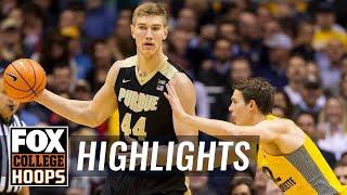 Purdue vs Marquette | Highlights | FOX COLLEGE HOOPS