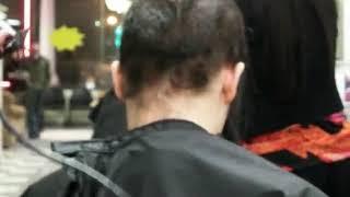 haircut and headshave ( chelsea hair cut)