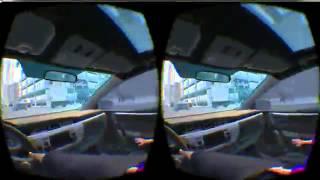 バーチャルリアリティ空間で、運転時の集中力をチェック!