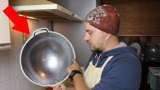 Вок: Запускаю свою сковороду Вок