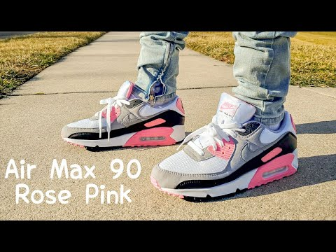 nike air max 90 rose homme