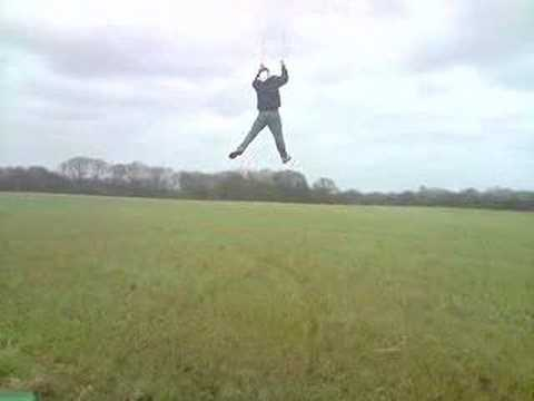 ****blade 4m power kite massive long 100m jump****