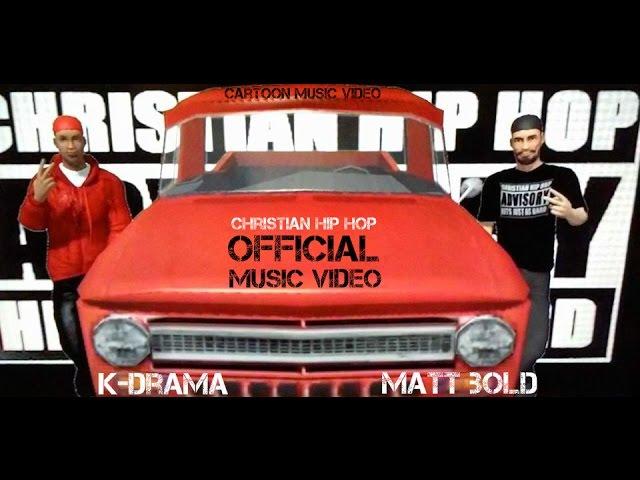 Christian Rap - Cartoon Music Video Matt Bold Ft. K-Drama Gods Vision(@KDrama513 @ChristianRapz)