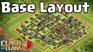 Baselayout verbessern [Clash of Clans ] DEUTSCH