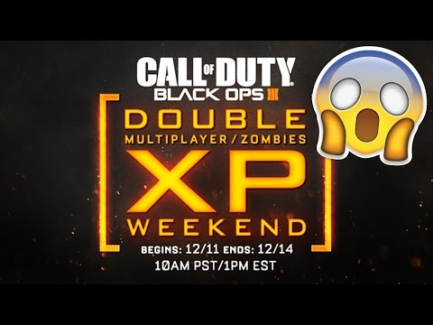 BLACK OPS 3 NEWS! - Double XP THIS WEEKEND! & BO3 BEST SELLING!