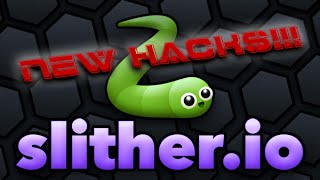 Slither.io *NEW* SPEED HACK HUGE MASS INVISIBLE HACK ZOOM MOD SKIN HACK