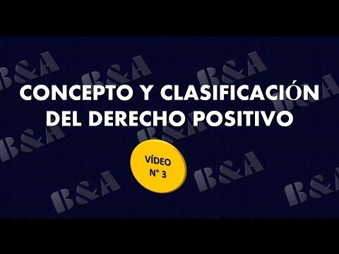 concepto-y-clasificación-del-derecho-positivo