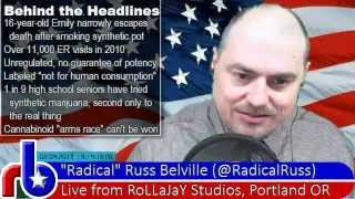 The Russ Belville Show #135 - Adderall and Synthetic Pot, unintended consequences of Prohibition