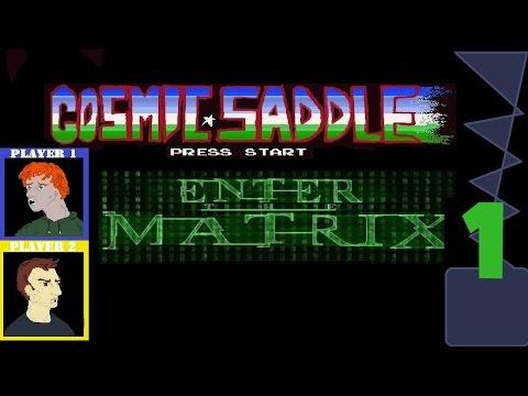 Cosmic Saddle  Enter Matrix Part 1  Industrial Rave Printer