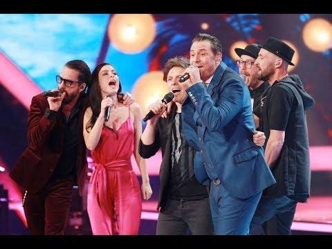 GOLDENE KAMERA 2018 - Medley der 'Sing meinen Song' Stars