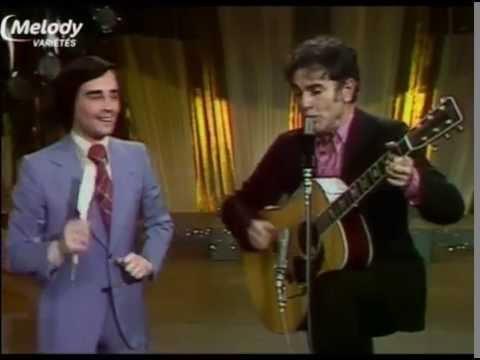 THIERRY LE LURON ET GUY BEART AVRIL 1975