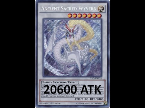 20600 ATK Ancient Sacred Wyvern replay (Aromage deck)
