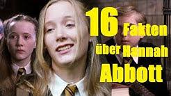 16 FAKTEN über Hannah ABBOTT