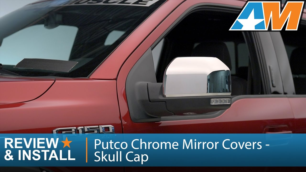 Putco Chrome Mirror Covers Skull Cap Replacement Review Install