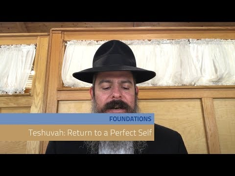 Lesson 5 - Teshuvah: Return to a Perfect Self