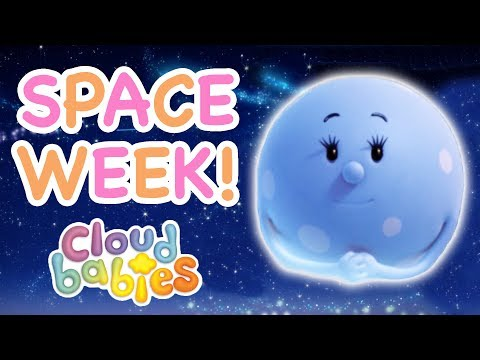 Cloudbabies - Space Week! | Moon Stories