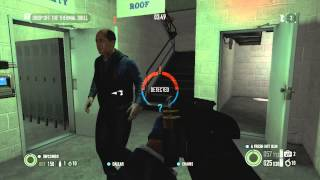 (Xbox 360) PayDay 2 Bain Bank Heist Gold Full Stealth With Randoms