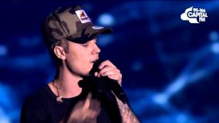 Justin Bieber Performs 'Love Yourself' (Jingle Bell Ball 2015)