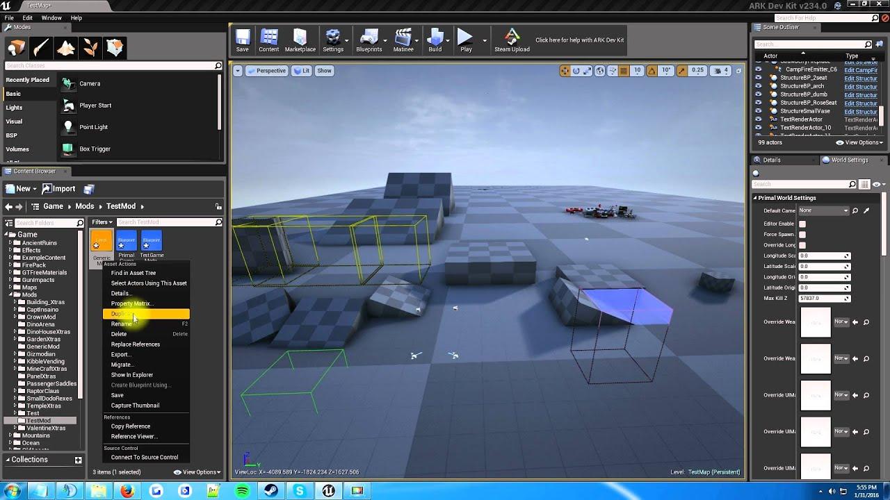 Ark Dev Kit Tutorials: First Mod Setup