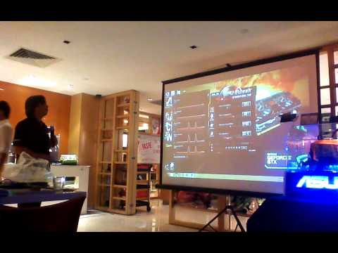 ASUS introduces their Graphics Technology at ASUS NVIDIA Gamers' Gathering