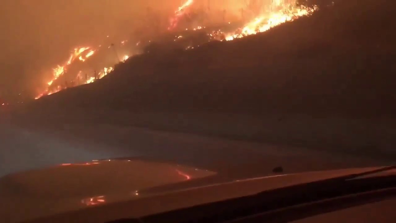 Saddleridge Fire Erupts Overnight Near Sylmar Growing To Thousands Of Acres And Forcing Evacuations