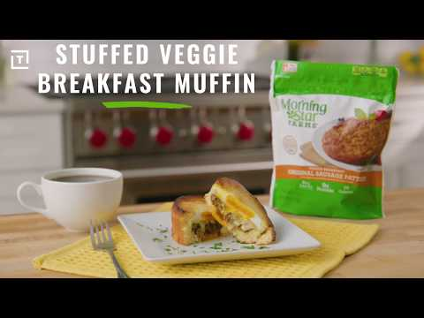 MorningStar Farms® Stuffed Veggie Breakfast Muffin Recipe