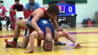 20140215131025 2014 OUA FS 54kg Sam Jagas Brock vs Chris  Waltner Lake head