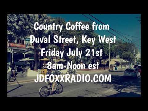 JD FOXX RADIO KEY WEST FLORIDA LIVE BROADCAST