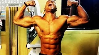 "How To Get A 6 Pack Fast with ""Cable Crunches"" (Big Brandon Carter)"