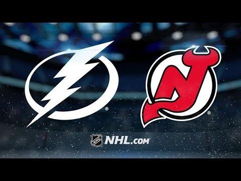 Tampa Bay Lightning Vs. New Jersey Devils | NHL Game Recap | October 17, 2017 | HD